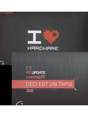 Tapis de souris Hardware et Pc Update Magazine