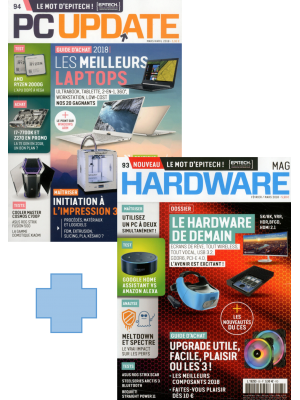 PC UPDATE + HARDWARE Abonnement 2 Ans