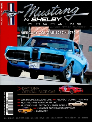 MUSTANG & SHELBY Abonnement 2 Ans